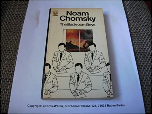 Backroom Boys by Noam Chomsky (1973-10-01)
