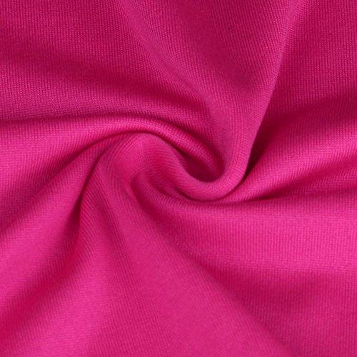 Palestra Vest Tops Shirt Camicetta Maniche Blouse BeautyTop Gilet Canotte Donna Canottiera Sciolto Unita Estive Sportivo da Camicie Senza Top Maglietta T Canotte Rosa Tinta 4qRZ6B