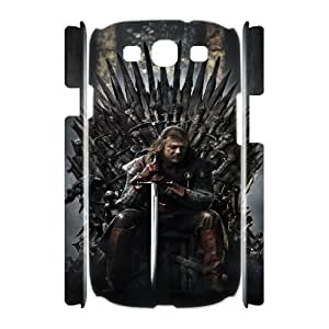 GameofThrones ROCK7056511 3D Art Print Design Phone Back Case Customized Hard Shell Protection Samsung Galaxy S3 I9300