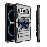 Samsung Galaxy S8 Plus Case Case | S8 Plus Holster Case by Untouchble [Heavy Duty Clip] Combat Shockproof Rugged Hybrid Armor [Kickstand] [Swivel Belt Holster Clip] - Texas Star