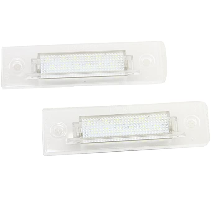 Ph-orsche Led License Number Plate Light Kit Fit For 911 968 Boxster Carrera Turbo GT3 18leds White Rear Number Plate Lamp Assembly Direct Replacement