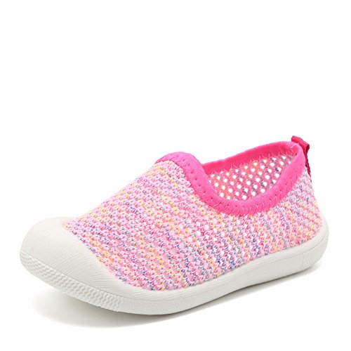 af3addd75f3772 CIOR Kids Shoes Slip-on Breathable Mesh Sneakers Water Shoes Running Pool  Beach (Toddler