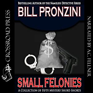 Small Felonies: Fifty Mystery Short Stories Audiobook