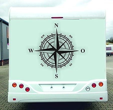 Instrumentos de pegatinas para autocaravana, caravana, N O S W, 1 ...