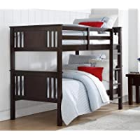 Better Homes and Gardens Flynn Twin Bunk Bed (Espresso)