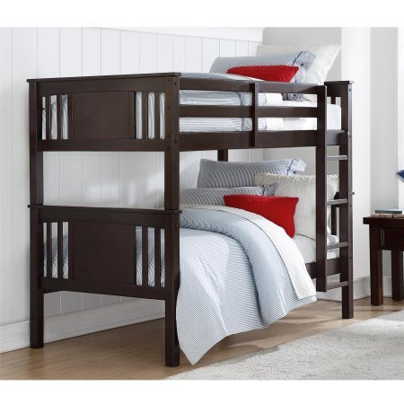 Better Homes and Gardens Flynn Twin Bunk Bed (Espresso) from Better Homes and Garden