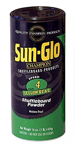 - Sun-Glo #4 Speed Shuffleboard Powder Wax 16 oz