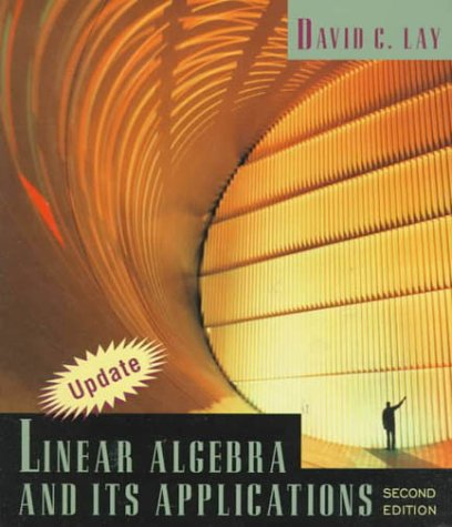 Linear Algebra and Its Applications Second Edition Update