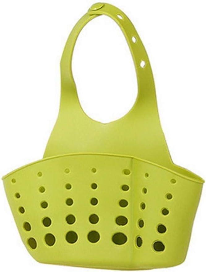 Sostenedor de la esponja de cocina escurridor fregadero sostenedor de la esponja de ba/ño Estante de almacenamiento fregadero sostenedor del dren del env/ío de la gota cesta Color : Style 1 blue