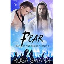 Fear (Feathers and Microphones 3): Gay Fallen Angel and Rock Star Romance