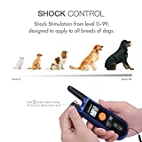 [Upgraded] Remote Dog Training Collar, multifun Rechargeable Electronic Collar, All-Weather Resistant Dog Shock Collar with Beep Vibration and Shock Electric Training Collar for All Size Dogs