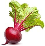 Ruby Queen Beet Seeds | Beet Seeds for Planting Outdoor Gardens | Heirloom & Non-GMO | Planting Instructions Included