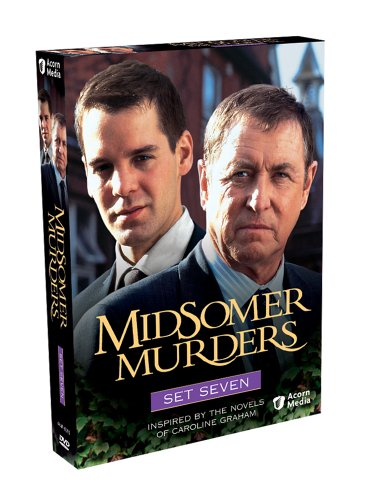 Midsomer Murders - Set Seven (The Green Man / Bad Tidings / The Fisher King / Sins Of Commision) (Jason Min The Man And His Wife)