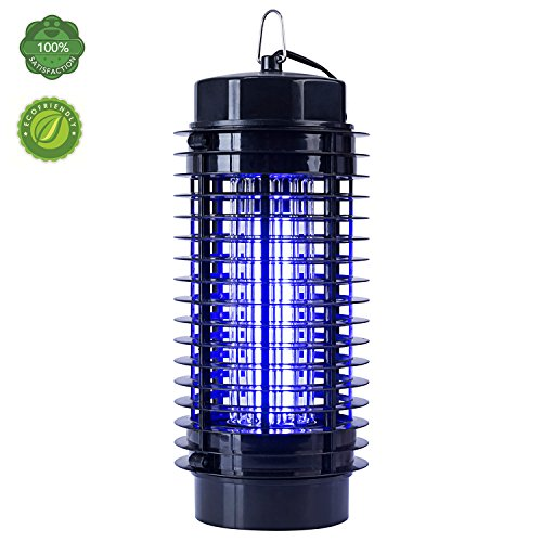 TBNEVG Powerful Electric Bug Zapper With UV Light Trap,Indoor Outdoor Mosquito Fly Insect Catcher Killer,Pest Control Protects Up to 1.5 Acre For Residential, Commercial and Industrial Use