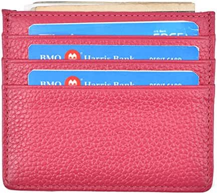 RFID Blocking Front Pocket Wallet Slim Wallet Minimalist Wallet Thin Card Holder