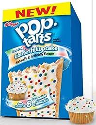 Kellogg\'s Pop-Tarts Toaster Pastries - Confetti Cupcake - 8 ct - 2 pk