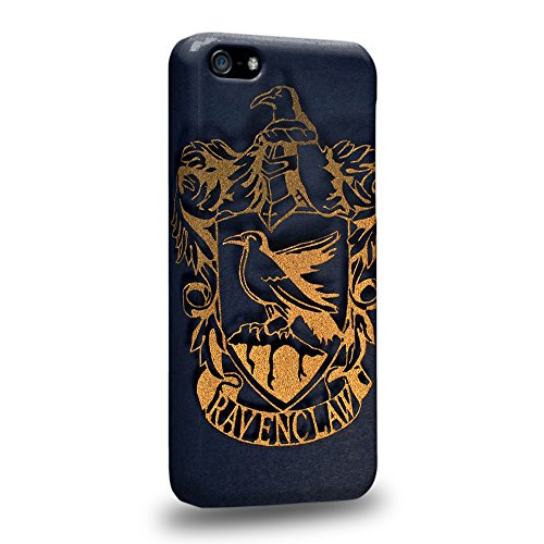 Case88 Premium Designs Harry Potter & Hogwarts Collections Hogwarts RavenClaw Sigil Protective Snap-on Hard Back Case Cover for Apple iPhone 5c