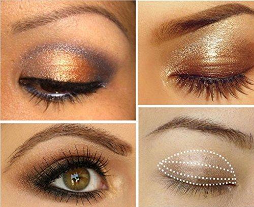 CMrtew Smoky Eyeshadow Palette 3 colors Set Eye Shadow Powder Professional Natural Matte Palette Cosmetics (H) by CMrtew (Image #3)