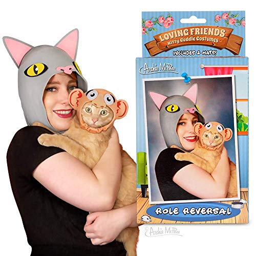 Archie McPhee Loving Friends Kitty Cuddle Costumes, Role Reversal