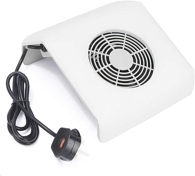 Eléctrico Ventilador Aspiradora De Uñas Máquina Uñas Succión Polvo ...