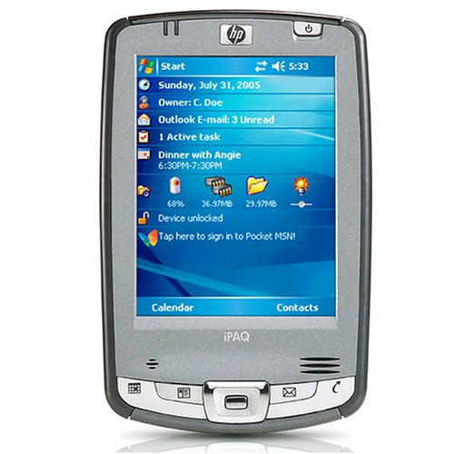 New HP iPAQ hx2495 Pocket PC