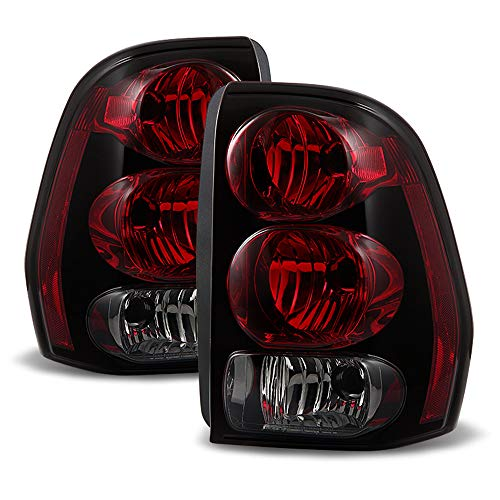 ACANII - For 2002-2009 Chevrolet Trailblazer Rear Brake Tail Lights Lamps Left+Right ()