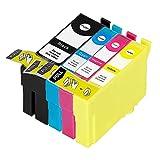 ECS Compatible Ink Cartridge Replacement for Epson WorkForce Pro WF-4720DWF WF-4725DWF WF-4730DTWF WF-4730DWF WF-4740DTWF WF-4740DWF 35XL (BK/C/M/Y, 4-Pack)