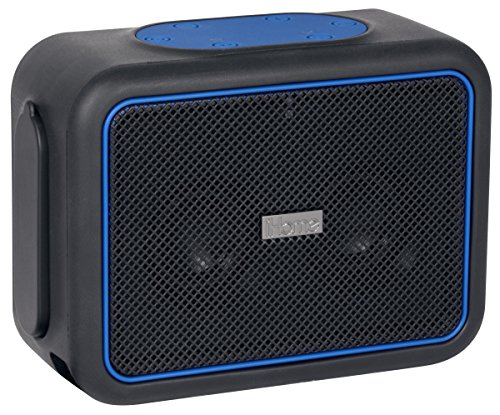 iHome iBT35BLC iBT35 Waterproof + Shockproof Speaker Black/B