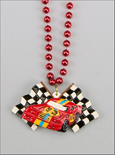 Auto Racing Bead Sports Car Stock Car Mardi Gras Beads by the Dozen New Orleans