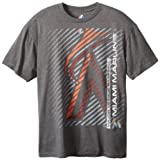 MLB Majestic Miami Marlins Batting Champion T-Shirt - Charcoal