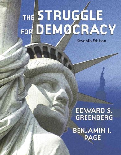 Struggle for Democracy, The (Hardcover) (7th Edition)