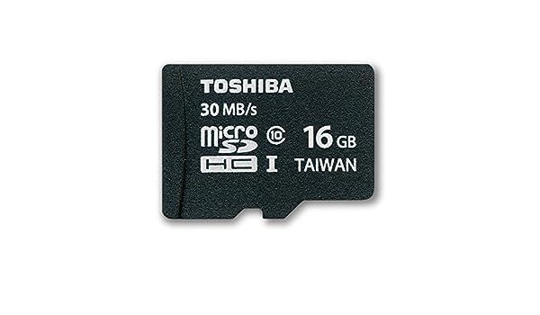 Toshiba SD-C016UHS1 - Tarjeta de Memoria Micro SDHC de 16 GB ...
