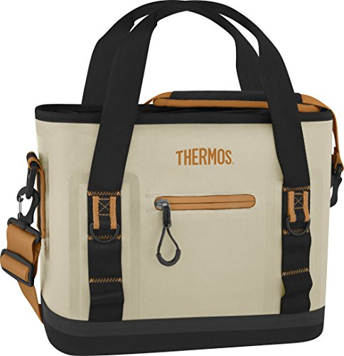 Thermos Trailsman 12 Can Tote, Cream/Tan