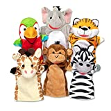 Melissa & Doug Safari Buddies Hand Puppets Puppet Set (6 Hand Puppets) Great Gift for Girls and Boys - Best for 2, 3, 4, 5 and 6 Year Olds: more info
