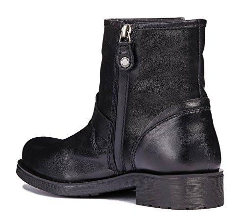 Damen Rawelle D846RC System Boots Sportive Glattleder Geox Reißverschluss EUBwqq