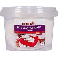 RedMan White Rolled Fondant, 500G