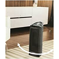 Lasko Electronic Ceramic Heater Tower With Remote ControlVersatile Size For Table Or Floor Use