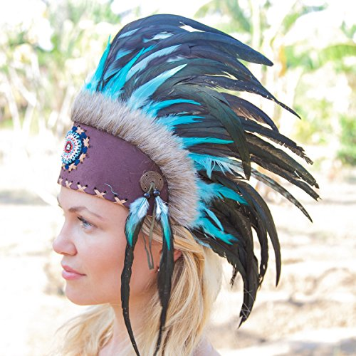 Feather Headdress Costumes (Novum Crafts Feather Headdress | Native American Indian Inspired |)