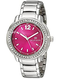 Tommy Hilfiger Women's 1781501 Analog Display Quartz Silver Watch