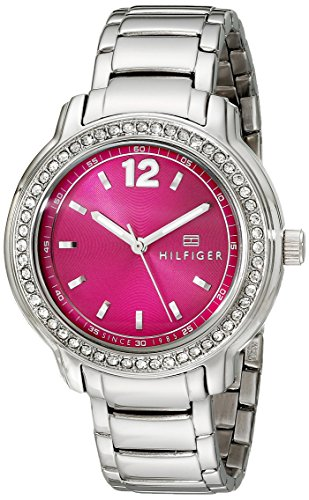 Tommy Hilfiger Women's 1781501 Crystal-Accented Stainless...