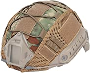 Outdoor Sports Airsoft Gear Helmet Accessory Tactical Camouflage Fast Helmet Cover