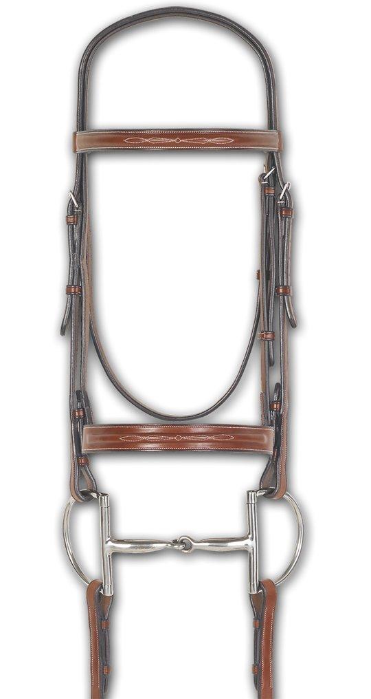 Ovation Comfort Crown Fancy Wide Flat Bridle