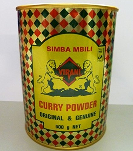 Spices-simba Mbili Curry Powder 500gms From Kenya-original and Genuine(BUY 2 GET 200GMS CAN FREE) by Simba Mbili