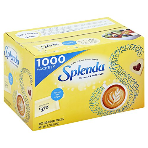 Splenda--No Calorie Sweetener Value Pack--1000 Count--Sugar Substitute for Use with Coffee, Tea, Fruit, Cereal, and - Stores Compare