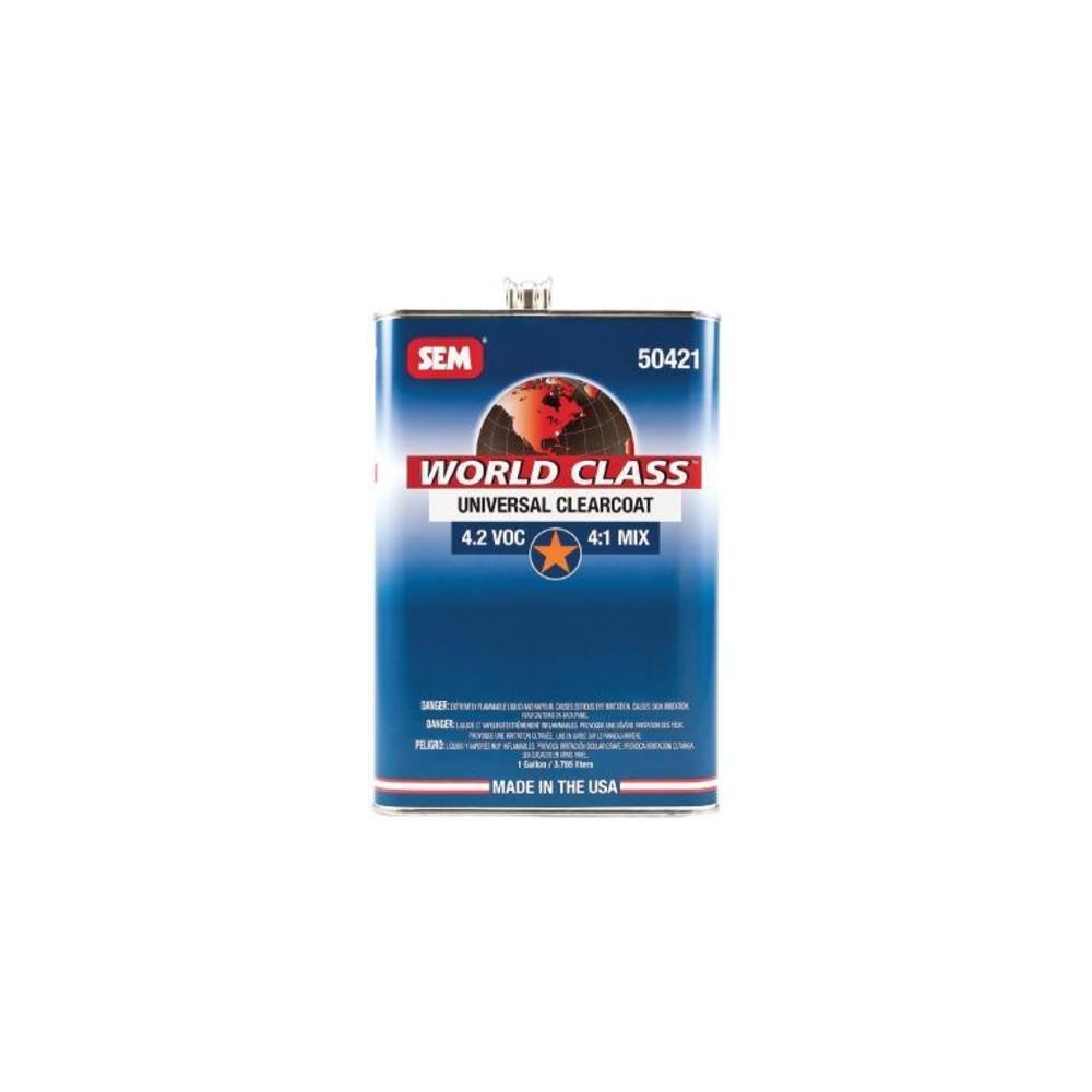 SEM PRODUCTS INC | UNIVERSAL CLEARCOAT 4.2 VOC 4:1 MIX GALL | SE50421