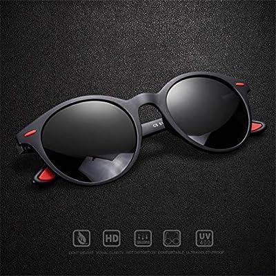 Men Sunglasses Polarized Oval Frame Sunglasses Women Men Vintage Unisex Goggles AF8112
