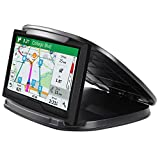 GPS Holder For Car,Cell Phone Holder For Car,Phonr Car Mount Dashboard Holder,NonSlip Van Phone Holder Vehicle Washable Cradle Silicone Pads Fits 3-6.8 Inch Universal Smartphones and GPS Devices