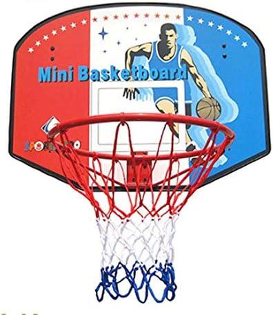 バスケットゴール バスケツトゴール バスケ ゴール 直径45センチメートル木製のバスケットボールのフープを標準ボールをぶら下げビッグバスケットボールフープ屋内/屋外のセット、 室内 屋外用