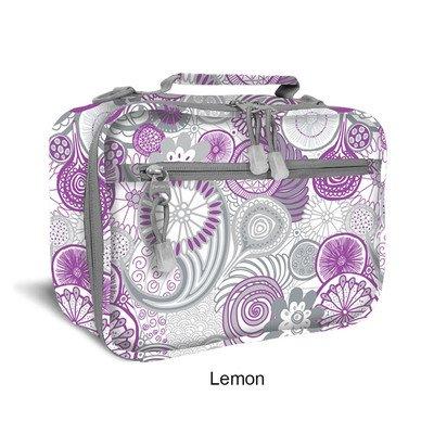 Cody Lunch Bag with Shoulder Strap Color: Lemon