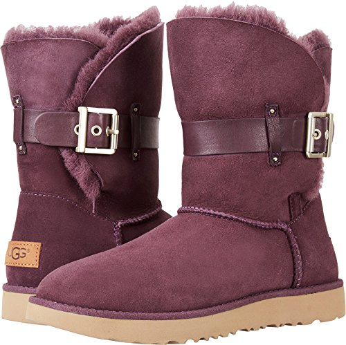UGG Womens Jaylyn Shearling Boot Port Size 6.5 (Ugg Sale Women)